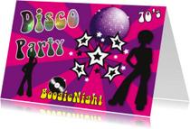 Uitnodigingen - nr27-themafeest-Disco