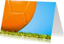 Kinderfeestjes - Oranje voetbal voor de kampioen