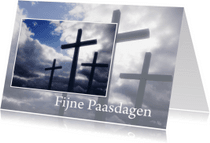 Paaskaarten - Paaskaart Fijne paasdagen