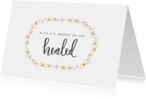 Paaskaarten - Paaskaart healed - HM