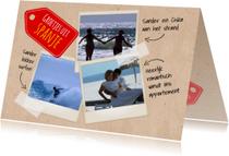 Vakantiekaarten - Pagina's fotoboek-isf