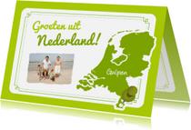 Vakantiekaarten - Persoonlijke vakantiekaart NL
