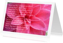 Spreukenkaarten - recept voor geluk