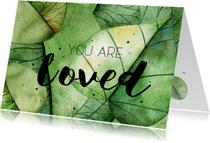 Religie kaarten - Religiekaartje: You are loved!