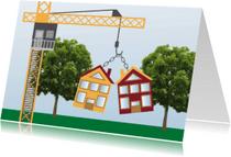 Verhuiskaarten - Samenwonen kaart - Remco