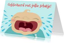 Felicitatiekaarten - Schatje