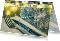 Uitnodigingen - sfeervolle uitnodiging diner