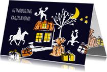 Sinterklaas uitnodiging pakjesavond