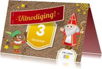 Sinterklaaskaarten - Sinterklaasfeest Bedrijf Logo