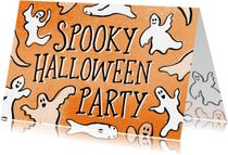 Halloween kaarten - Spooky Halloween Party