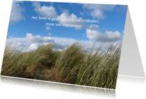 Spreukenkaarten - Spreukenkaart - duinlandschap