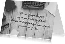 Spreukenkaarten - Spreukenkaart Make memories