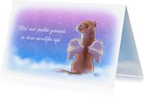 Condoleancekaarten - Sterkte Engeltje Chiwowy