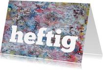 Sterkte kaarten - Sterkte Heftig Kunst - AW