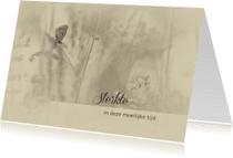 Sterkte kaarten - Sterktekaart vlinder vintage