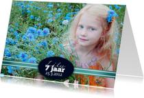 Verjaardagskaarten - Stijlvolle verjaardagskaart foto