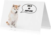 Valentijnskaarten - This is no puppy love