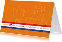 Verhuiskaarten - Typisch Hollands - tulpen 2