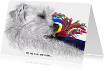 Kunstkaarten - Uitgeteld.....