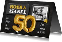 Uitnodigingen - Uitnodiging 50 jaar Ballon - SG
