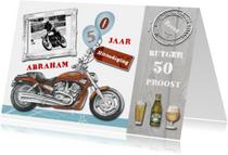 Uitnodigingen - Uitnodiging Abraham motor