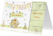 Uitnodigingen - Uitnodiging Babyshower boy and girl