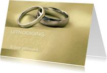 Uitnodiging gouden huwelijk