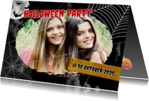 Uitnodiging Halloween feest Foto