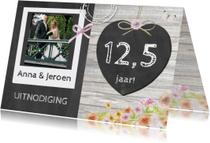 Jubileumkaarten - uitnodiging jubileum schoolbord