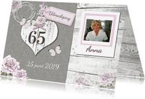Uitnodigingen - uitnodiging pensioen hart