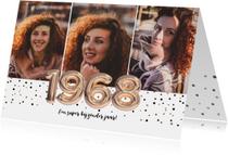 Uitnodiging voor 50 jaar feest jaar 1968