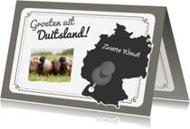 Vakantiekaarten - Vakantie Landkaart Duitsland