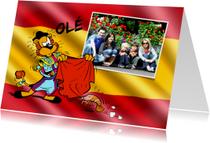 Vakantiekaarten - Vakantie Loeki in Spanje 2