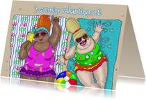 Vakantiekaarten - Vakantiekaart Zomerzon