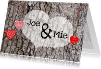 Valentijnskaarten - Valentijn Hout tattoo
