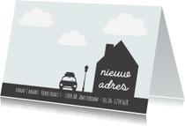 Verhuiskaarten - Verhuiskaart 4 - WW