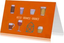 Uitnodigingen - Verhuiskaarten-Drankje-KK