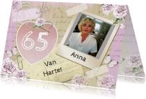 Verjaardagskaarten - verjaardag Anna hart
