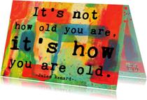 Verjaardagskaarten - Verjaardag kleurrijk leven IW