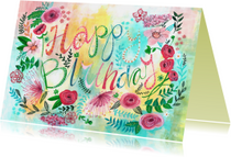 Verjaardagskaarten - Verjaardagskaart Bijzonder