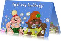 Verjaardagskaarten - Verjaardagskaart Bubbeltijd