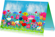 Verjaardagskaarten - Verjaardagskaart Oepsie PA