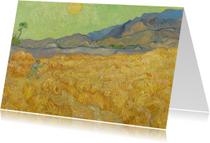 Vincent van Gogh. Maaier in het landschap