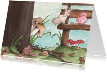 Zomaar kaarten - Vogeltjes in september