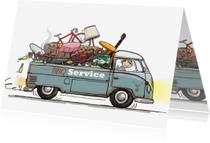 Uitnodigingen - Volkswagen pick-up food