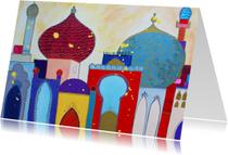 Religie kaarten - Vrolijke anzichtkaart