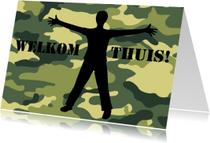 Welkom thuis kaarten - Welkom thuis camouflage