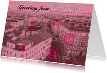 Vakantiekaarten - Wenen vakantiekaart