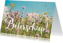 Beterschapskaarten - Wildbloemen - Beterschap