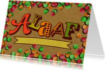 Carnavalskaarten - YVON Alaaf carnaval confetti